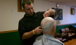 Senior Citizen haircut in North Tonawanda